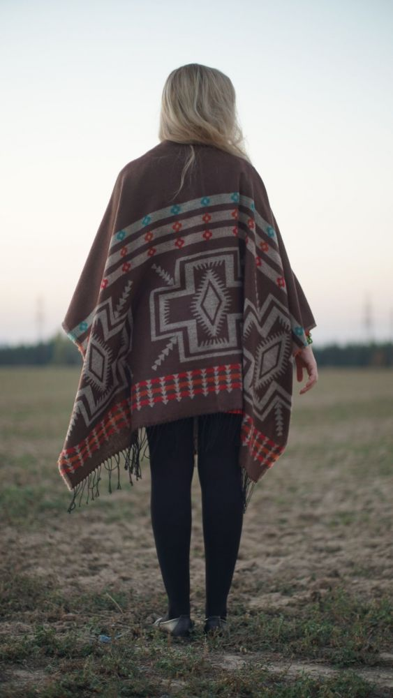 Indian style Poncho